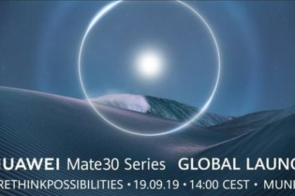 [Mobile] 就是今晚!HUAWEI Mate30 系列全球發佈會 9/19 台灣時間 20:00 同步直播!