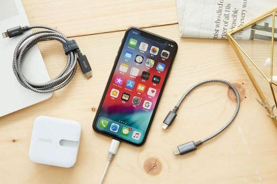 [Unbox] iPhone 快速充電的黃金組合:Moshi Integra 強韌系列充電線 + Moshi Rewind C 充電器實測!
