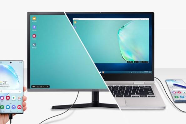 [Mobile] Galaxy Note10 內建 Samsung DeX 再進化!接電腦也能使用,連結至 Windows 不拿手機也能看最新資訊!