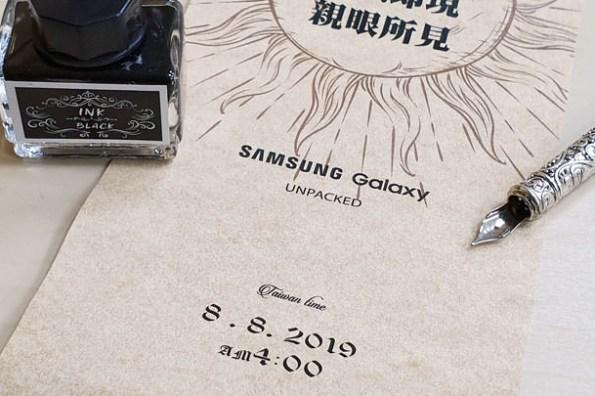 [Unbox] Galaxy Note10 要來了!8/8 凌晨 4:00 Samsung Galaxy Unpacked 登場~史上最浮誇邀請函開箱介紹!