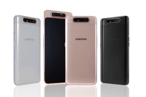 [Mobile] 三星 Galaxy A80 宣布 6 月底正式開賣!123 度超廣角翻轉鏡頭,3D 景深鏡頭帶來全新拍照體驗!