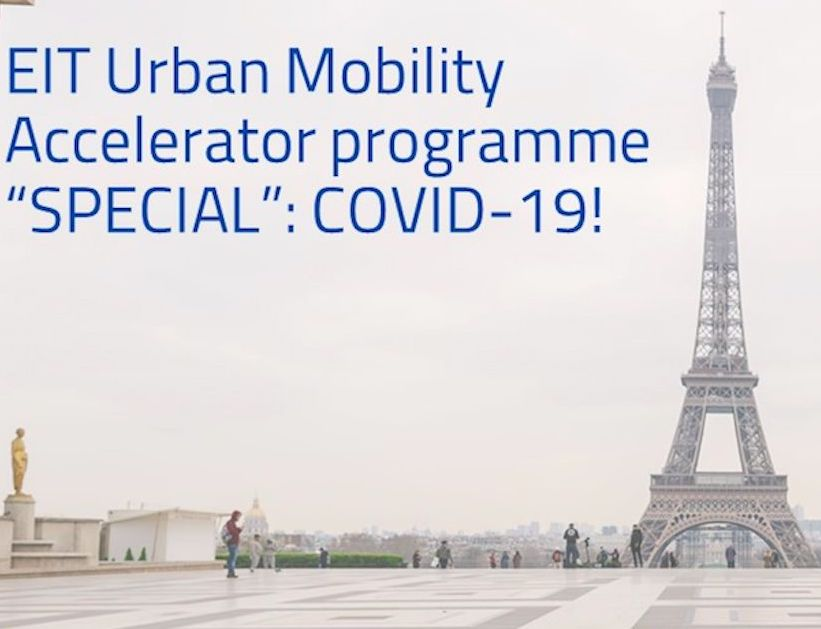 Axilion Chosen to Participate in the EIT Urban Mobility SPECIAL: COVID-19