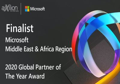 Axilion Smart Mobility recognized as the finalist of Azure - AI and Machine Learning 2020 Microsoft Partner of the Year