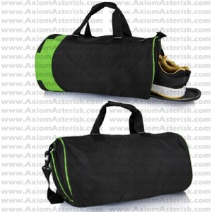 Gym/Sports Bag [with Shoes Section]