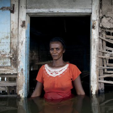 Haiti - Climate Change - Portrait of a hurricane victim