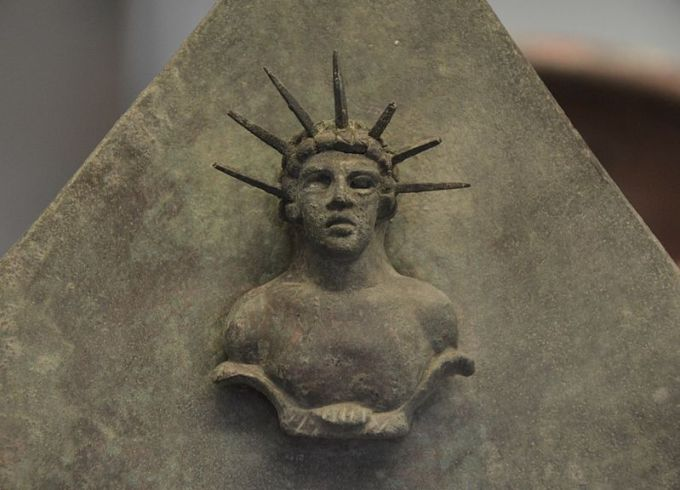 Bronze_tablet_with_head_of_Mithras_(CIMRM_234),_British_Museum_(15545697037)