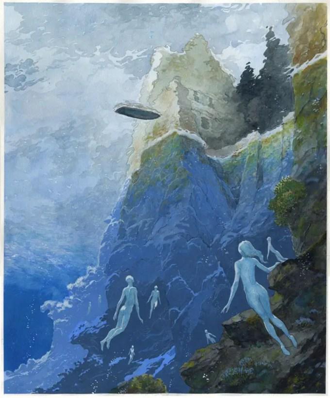 Luigi Critone, L' isola dei morti (2012)