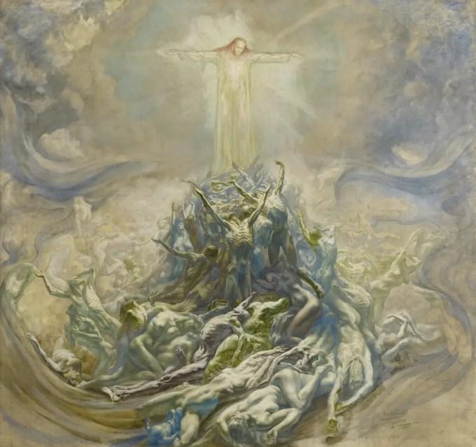 jean-delville-lhomme-dieu-the-god-man-1900