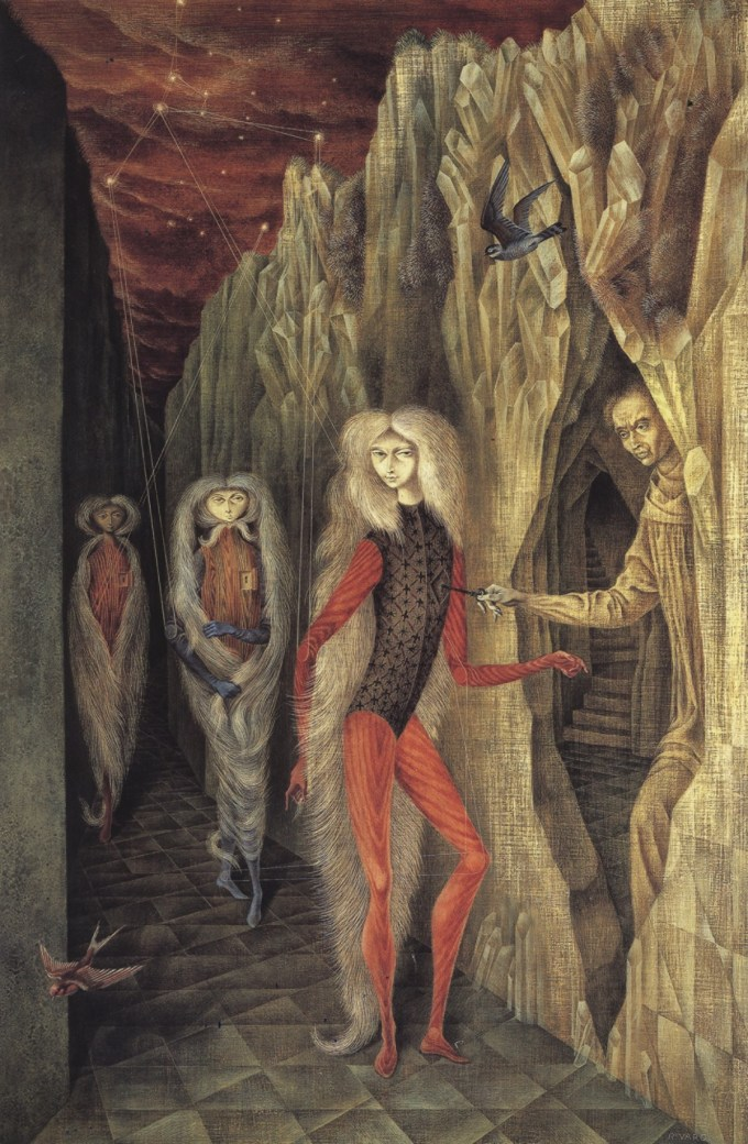 Remedios Varo, Portait of Dr. Ignatio Chavez