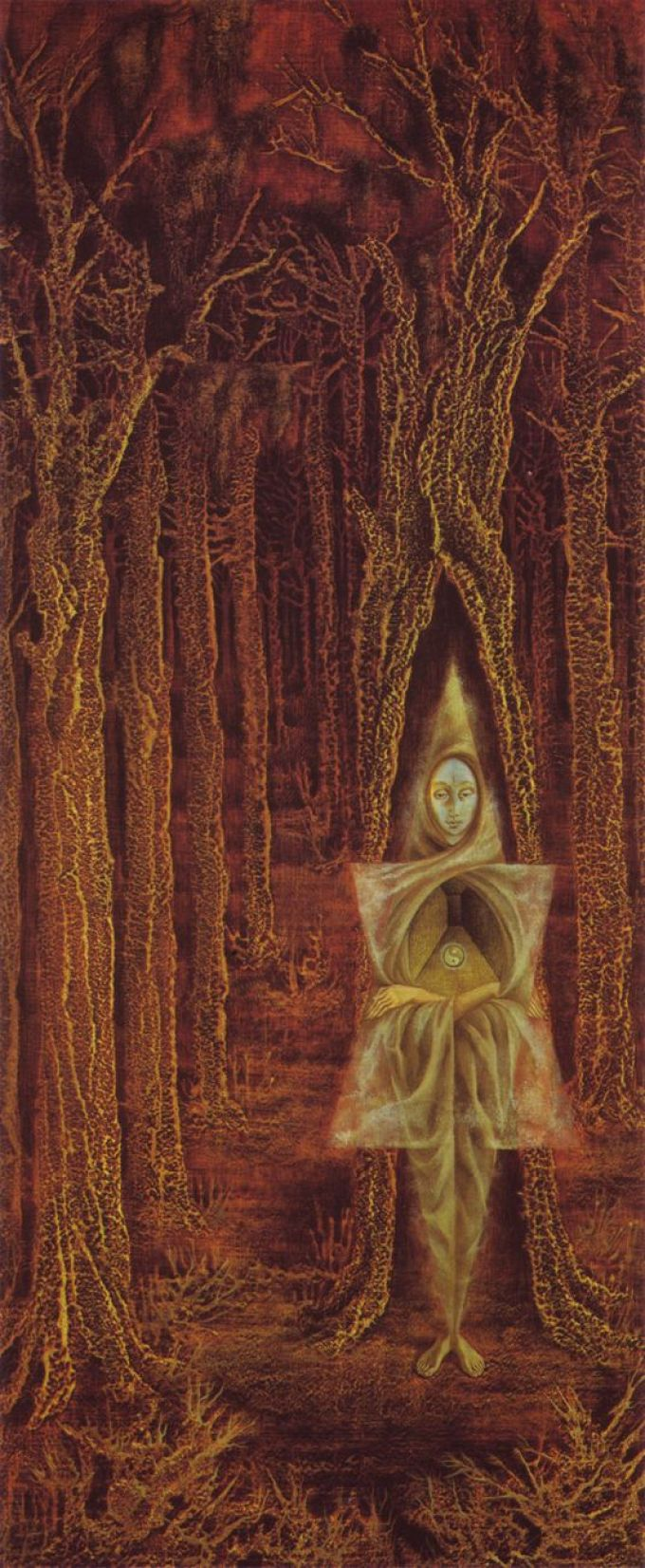 Remedios Varo, The Hermit, 1955