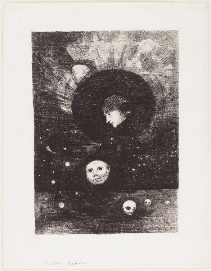 Odilon Redon. Germination 1879