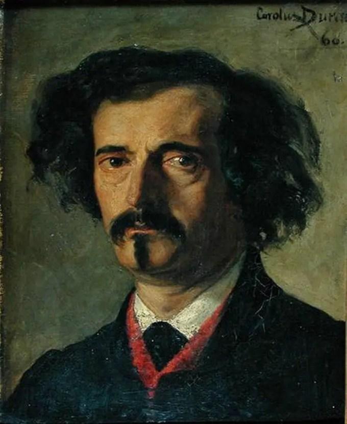 Auguste Villiers di L'Isle-Adam di Carolus Duran