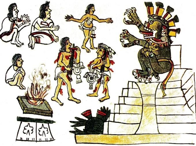 Mictlantecuhtli-priests-sacrifice