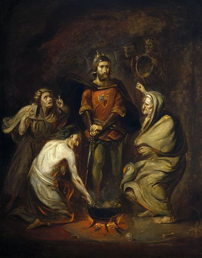 Macbeth_and_the_Witches_(Barker,_1830)