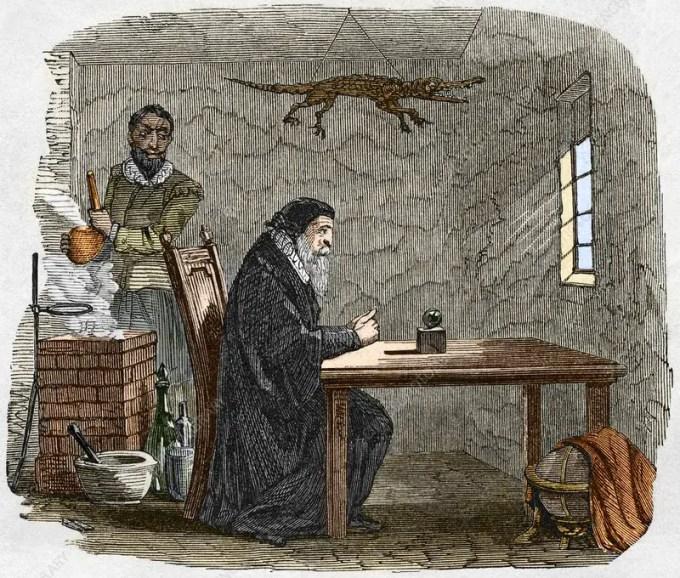 John Dee and Edward Kelly