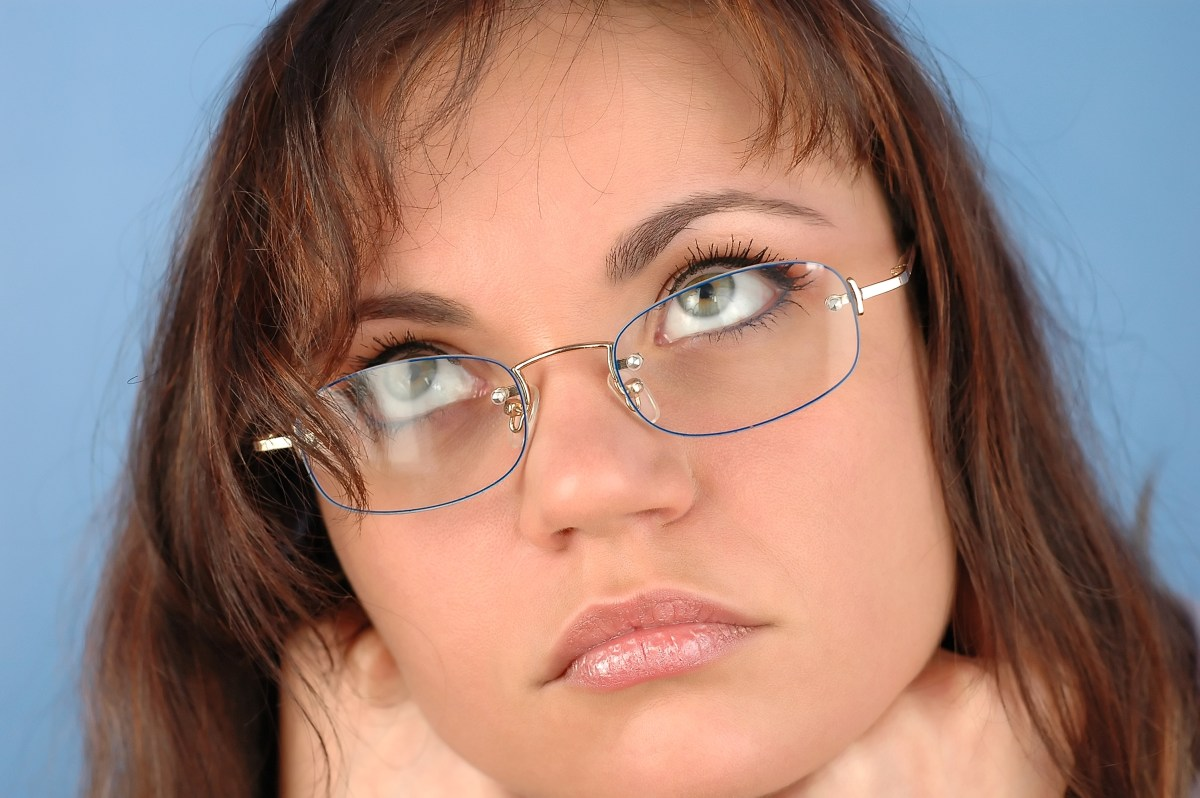 Woman with glasses | © Pensando | Dreamstime Stock Photos
