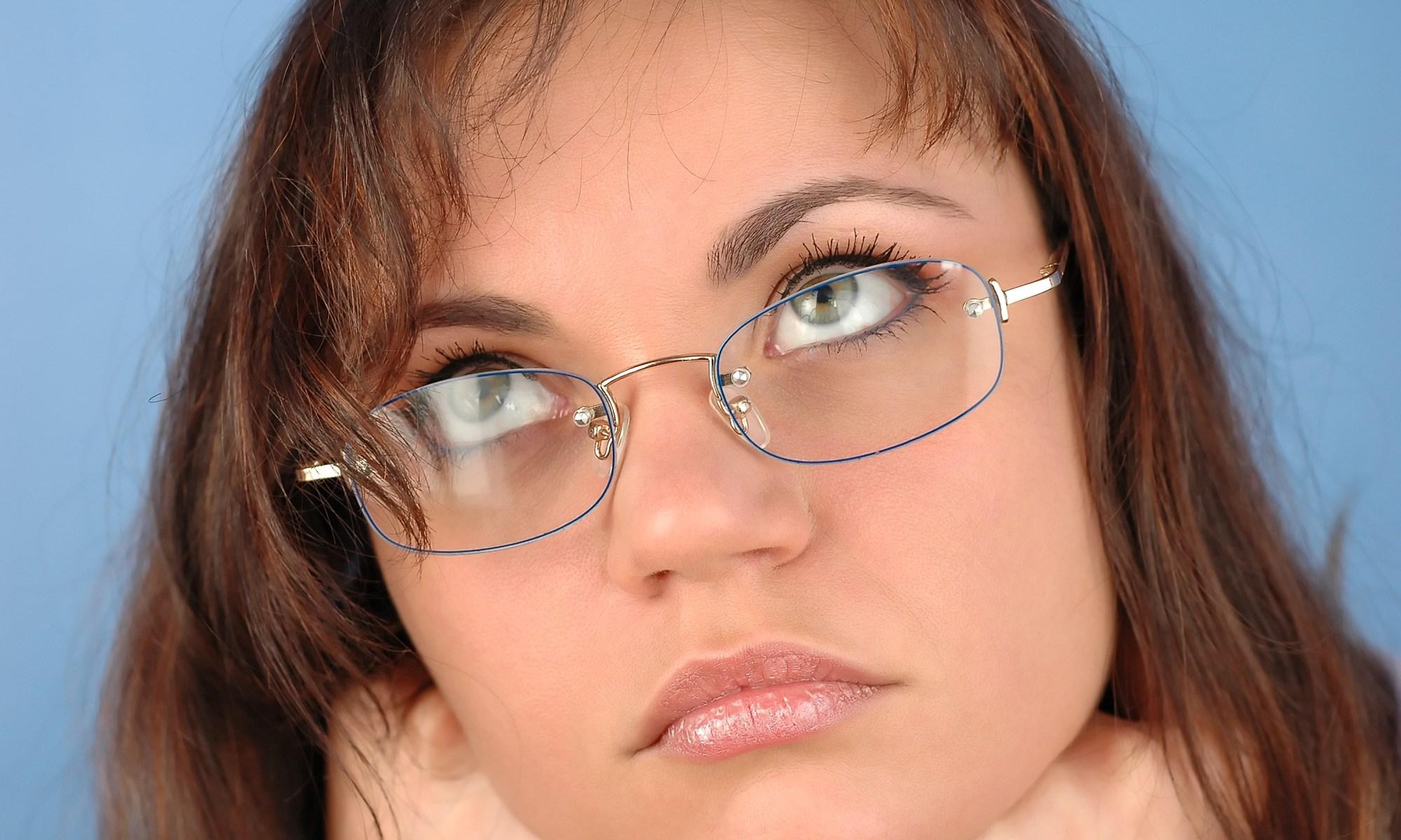 Woman with glasses | © Pensando | Dreamstime Stock Photos