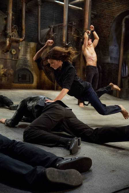Rebecca Ferguson as Ilsa Faust in Mission: Impossible – Rogue Nation (2015)