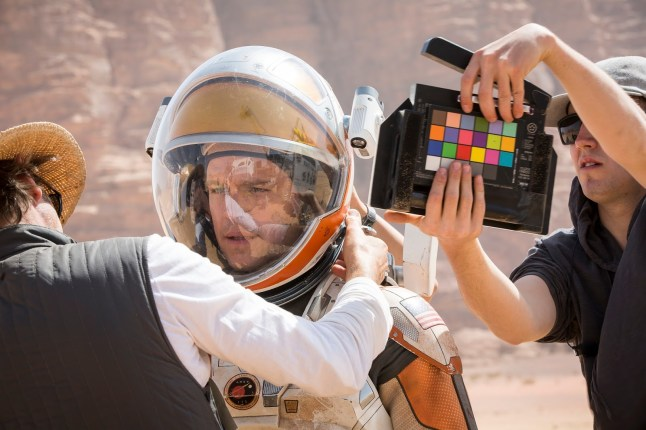 Behind the scenes, The Martian (2015)