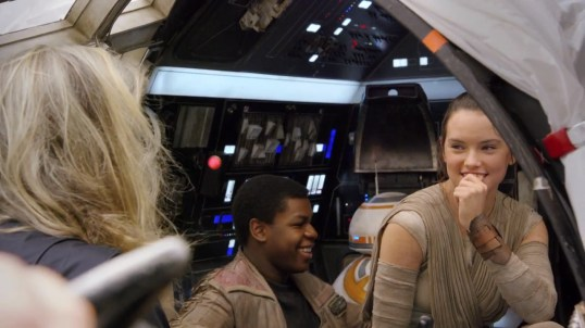 Behind the Scenes Photographs of Star Wars: The Force Awakens - Annie Leibovitz for Vanity Fair