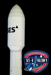 Falcon 9 SES-8 Image