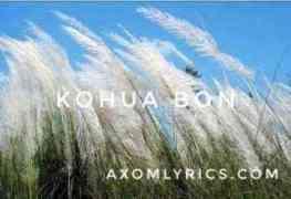 kohua bon lyrics