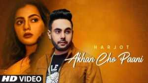 Akhan Cho Paani Lyrics