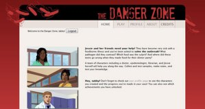 The Danger Zone Page Demo