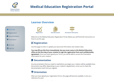 TEGH Medical Education Registration Portal