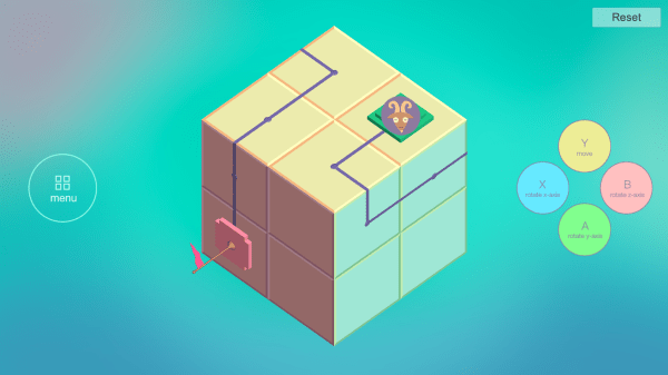 Day 3 of the Cube Thing, a playable game