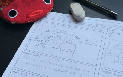 Dev Blog: Storyboarding for Cinematics