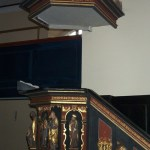 pulpit in Eckartsberga