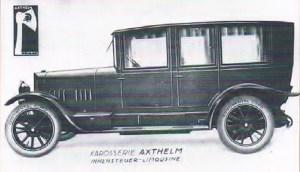 Axthelm, Protos Type C sedan, 1923