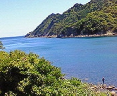 海陽町の海。