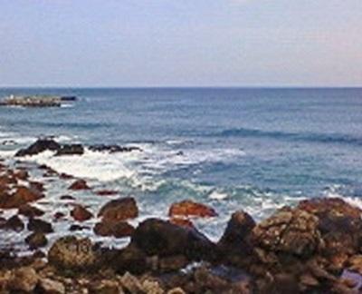 R55=基本的にずーっと海沿いの道。