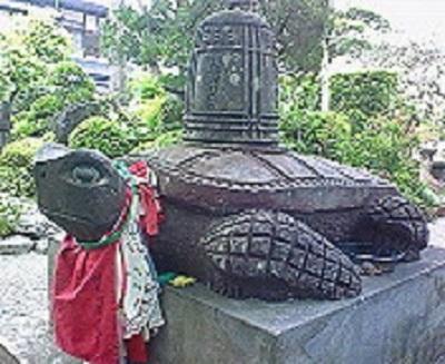 第39番札所 赤亀山 寺山院延光寺の亀。