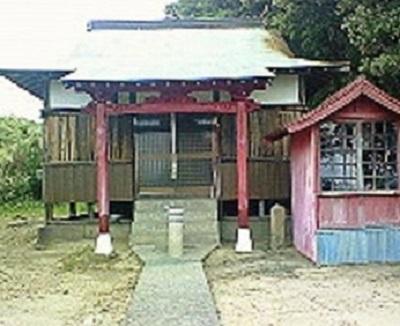 叶崎のお堂。