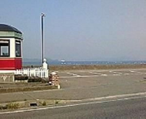 r347、海沿いの道を行く。