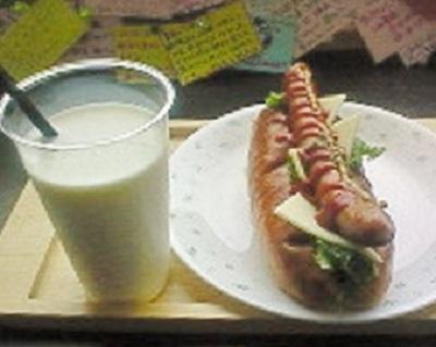 開陽台展望台にて朝食。
