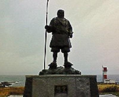 2007/11/20 08:14 弁慶の像