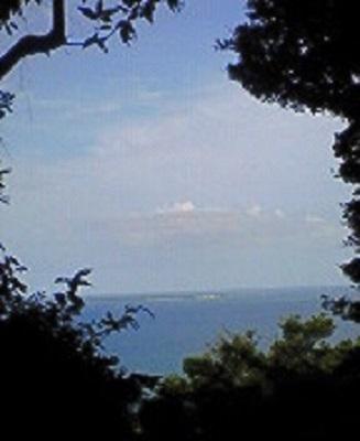 2009/07/05 16:26 最高聖地とされている久高島。