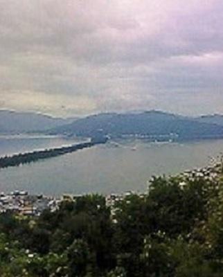 2009/09/04 10:38  天橋立を望む。