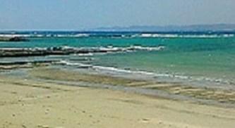 2009/09/08 13:53 南紀白浜の海。