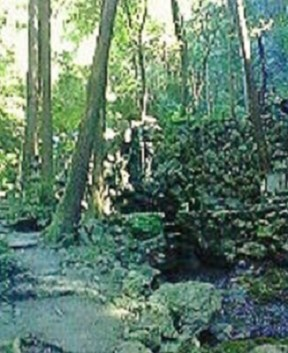 2009/09/10 08:44 天の岩戸へも参詣道。