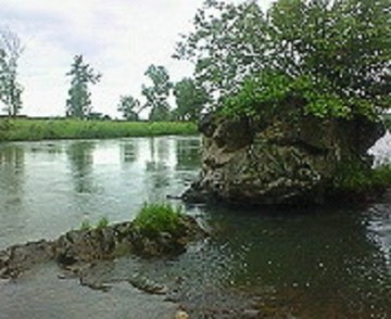 石狩川の風景