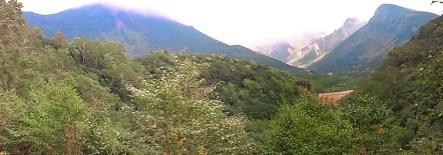 2011/ 9/16 10:55 凌雲閣露天風呂からの景色。