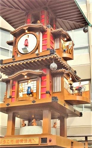 2012/11/12 12:01 「坊ちゃんカラクリ時計」カラクリ作動中②