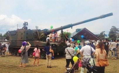 2013/ 6/16 11:55 99式155mm自走榴弾砲(ロングノーズ)②