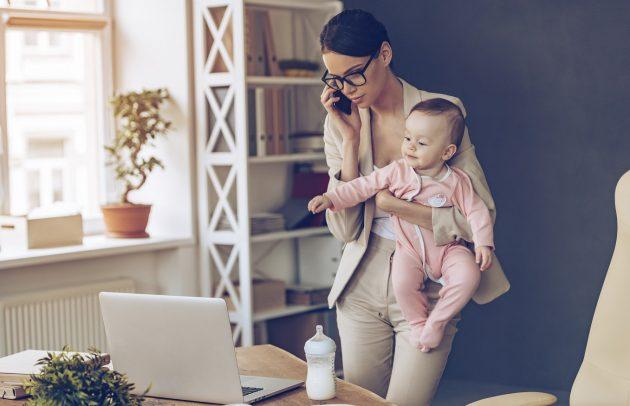 Trabajar en casa y con niños: consejos para lograrlo