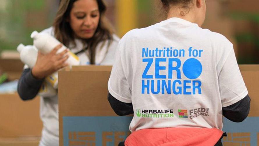 Herbalife Nutrition y Fundación Herbalife Nutrition amplían apoyos para el #WorldHugerDay